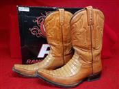 Rancho Semental Alligator Honey/Tan Men's Boots - Size 9